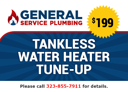 $199 tankless water heater tune-up coupon